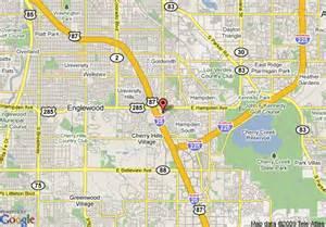 map of towneplace suites denver southeast denver