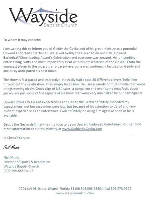youth pastor cover letter sle recommendation letter from youth minister