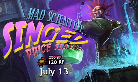 mad 20 20 price mad scientist singed price slash