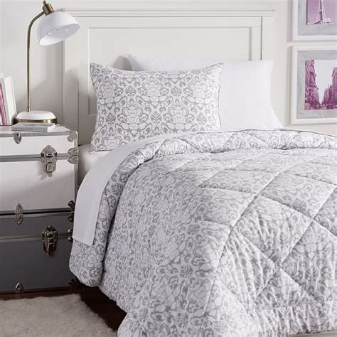 decorator damask deluxe comforter set with comforter