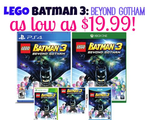 Ps4lego The Reg 1 lego batman 3 beyond gotham for ps4 ps3 wii nintendo ds3 xbox vita as low as 14 99 reg