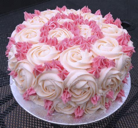 Rose Cake   iprefercakestopeople