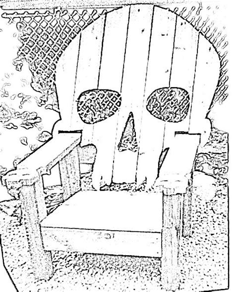 skeleton pattern used in casting skull chair pattern plans only adirondack chair