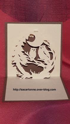 Owl Pop Up Card Template by Owl Pop Up Card Template From Cahier De Kirigami 18