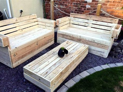 Handmade Pallet Furniture - recycled wooden pallet garden furniture 99 pallets