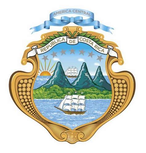imagenes simbolos patrios costa rica 191 cu 225 les son las partes y significado del escudo nacional