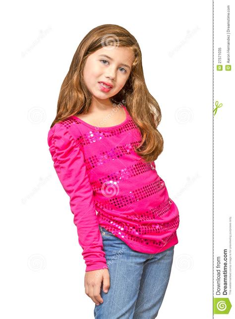 preteen pose multiracial preteen poses cheerfully royalty free stock