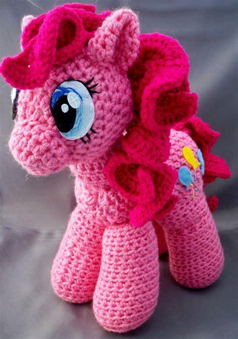 amigurumi pattern my little pony pinkie pie inspired pony amigurumi by llscreations83 on