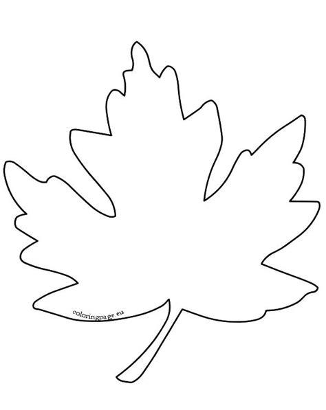 Printable Leaf Stencils