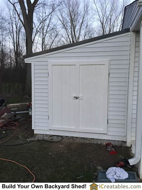 Shed Attached To Garage by Pictures Of Lean To Sheds Photos Of Lean To Shed Plans