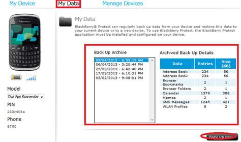 reset blackberry via pc backup dan restore data di blackberry secara online via pc