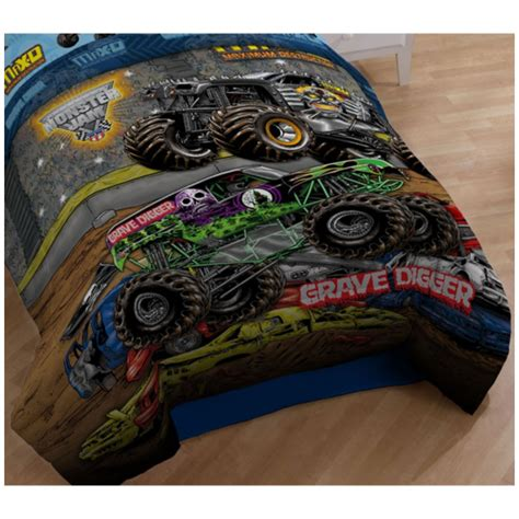 monster truck bedroom monster jam monster jam twin comforter grave digger