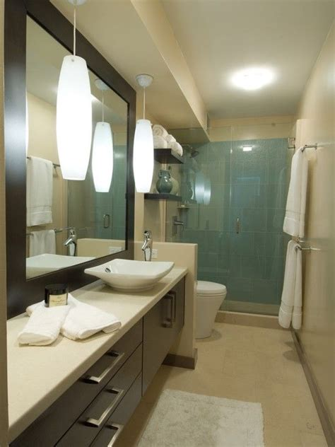 Narrow Bathrooms by Home Design Idea Bathroom Designs Narrow