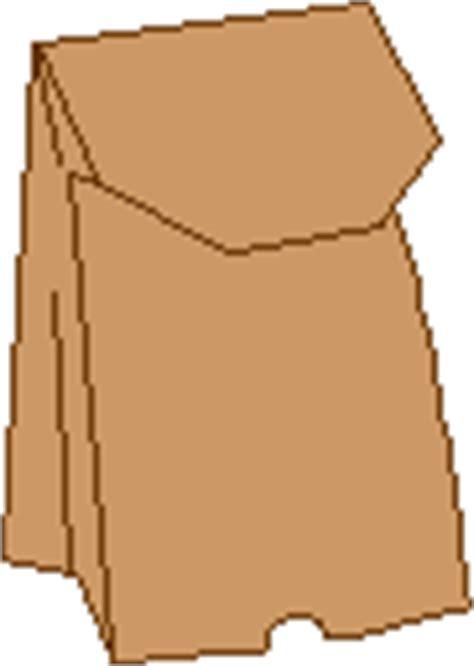 Paper Bag Garis Garis cara membuat wayang dari kantong kertas daur ulang