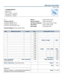 Parts And Labor Best Photos Of Labor Invoice Template Sle Parts And