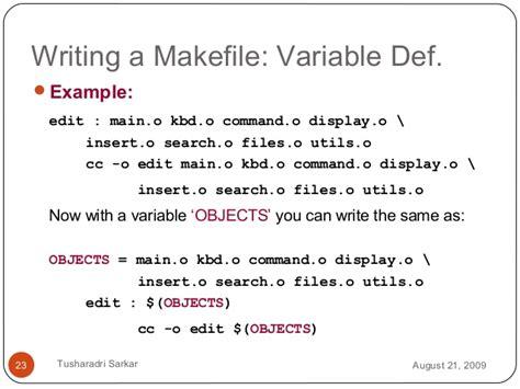 pattern rule makefile introduction to makefile
