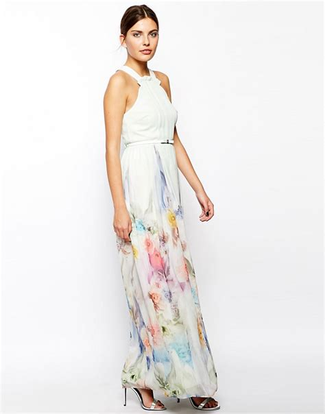 Sweet Floral Maxi Dress ted baker ted baker sugar sweet floral maxi dress with