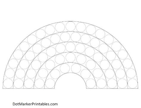 rainbow dot coloring page free coloring pages of do a dot rainbow