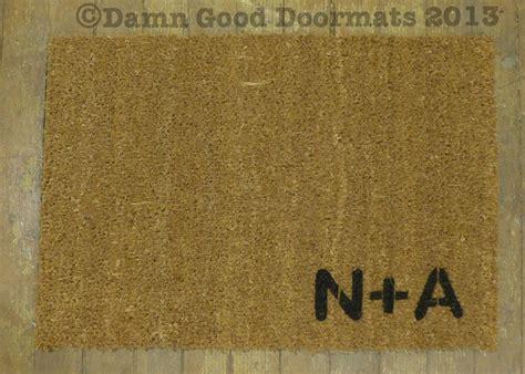 Doormats With Initials by Custom Initials Doormat Doormats