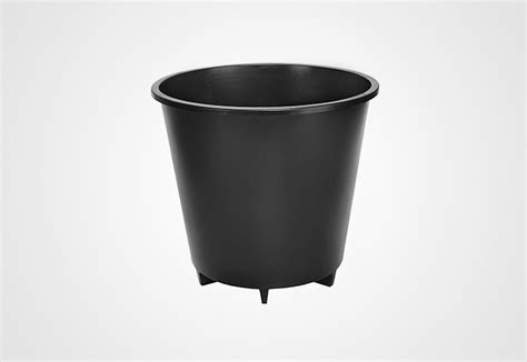 Planterbag 25 Liter Hitam 25 liter pot wide legs plantlogic