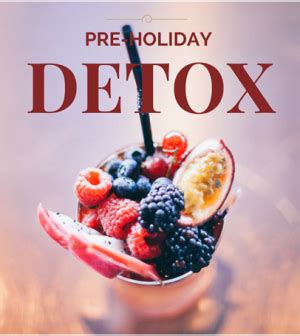 Pre Vacation Detox by Prep Your For The Holidays With 5 Easy Cleansesprep