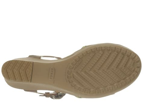 Crocs Womens Leigh Ii Ankle Graphic Wedge Angkel Angkle crocs leigh ii ankle graphic wedge at zappos