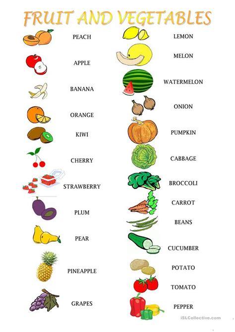 vegetables worksheet fruit and vegetables activities worksheet free esl printable worksheets made by teachers