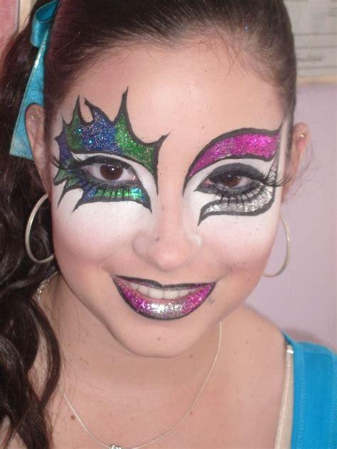 imagenes maquillaje halloween niños fotos de maquillaje artistico imagenes caras pintadas