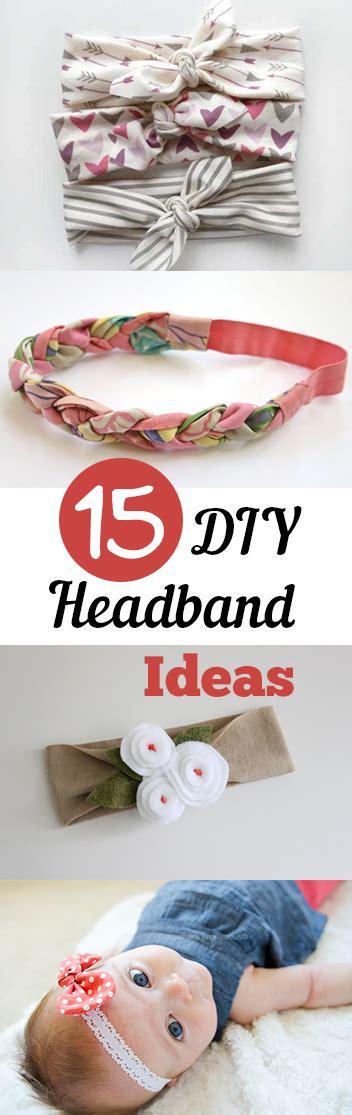 Handmade Headband Ideas - 15 diy headband ideas my list of lists