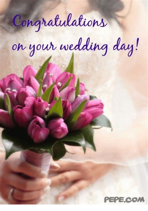 Wedding Congratulation Memes by Congratulations On Your Wedding Day Pepecom Meme On Sizzle