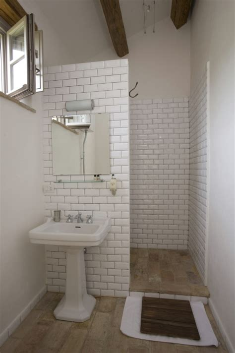 walk in shower small bathroom simple but beautiful small bathroom love the hidden walk