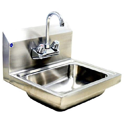 sink air blue air one compartment sink with splash guard