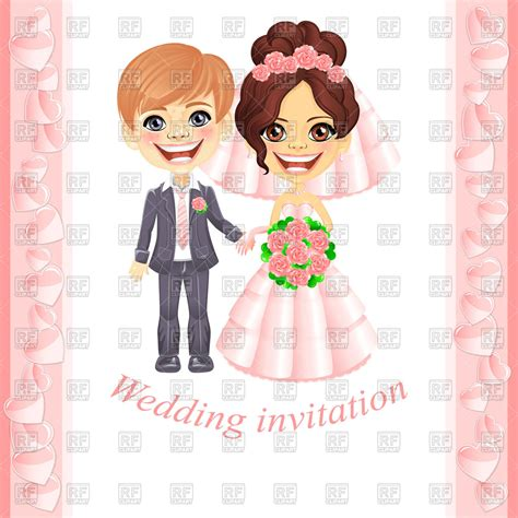 Animasi Wedding Png by Wedding Invitation With And Groom