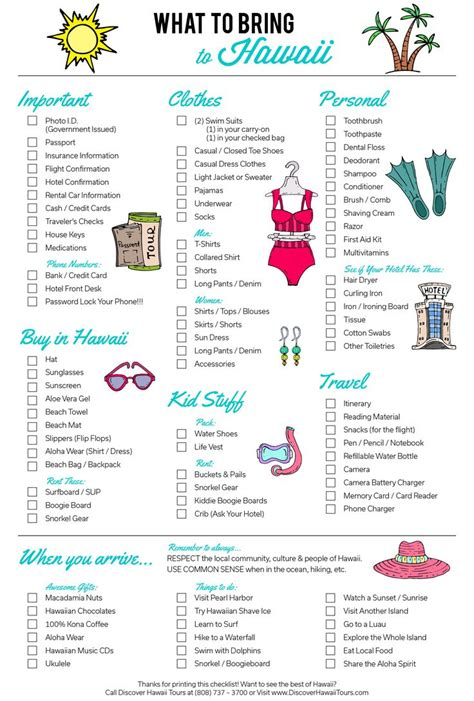 bringing a to hawaii best 25 hawaii packing lists ideas on