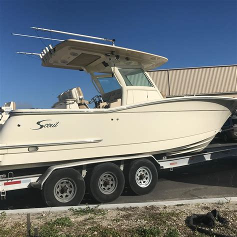 scout boats jacksonville fl 2015 scout 300 lxf power boat for sale www yachtworld