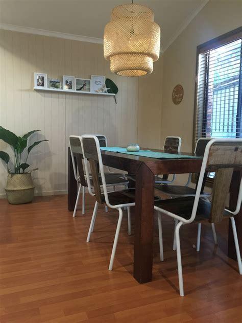 dining room modern tropical beach house home decor