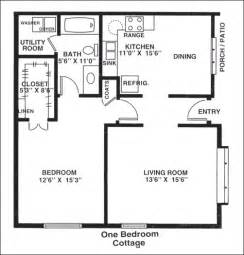 One Bedroom Cottage Floor Plans 1 Bedroom Cottage Plans Joy Studio Design Gallery Best