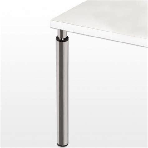 pied de table reglable 2717 pied r 233 glable hauteur 705 905 mm