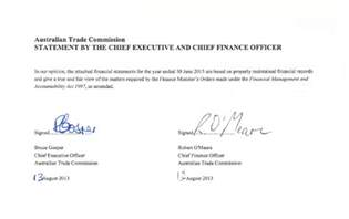 Certification Letter For Financial Statements certification of financial statements