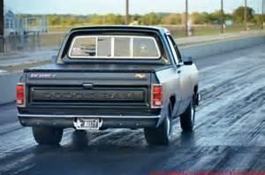 Dodge Drag Truck Buy Used 1983 Dodge D150 Rat Rod Show Truck Drag Truck