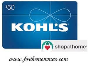 printable gift cards for kohls kohl s 50 gift card giveaway enter for a chance to win