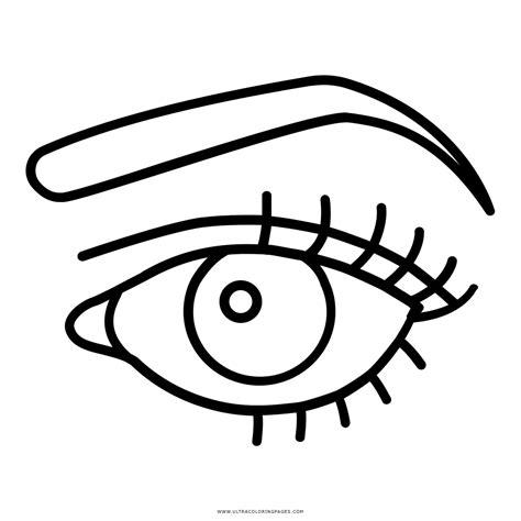imagenes para colorear ojos dibujo de ojo para colorear ultra coloring pages