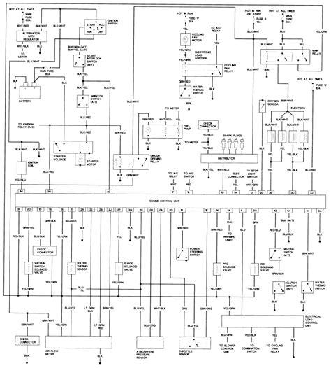 i need a fuse box diagram for a 1988 mazda 323 do you