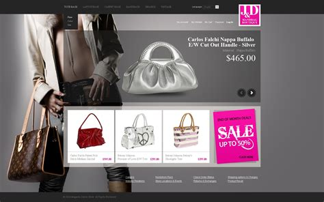 Handbag Website Template Handbags 2018 Fancy Website Design Templates