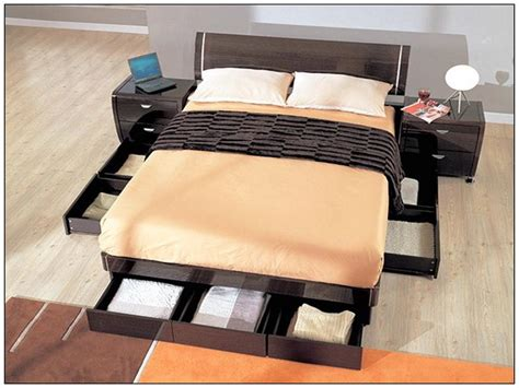 full size platform bed with storage platform full size storage bed stroovi