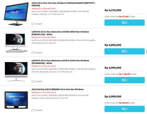 Hp Acer Paling Murah ini dia daftar harga komputer all in one i3 acer