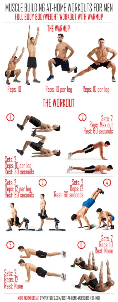 at home workouts for bodyweight workout with