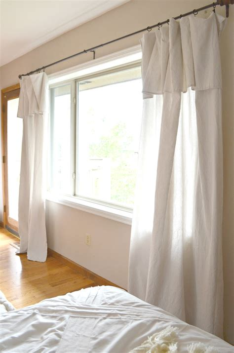 how to make drop cloth drapes drop cloth curtain review little vintage nest