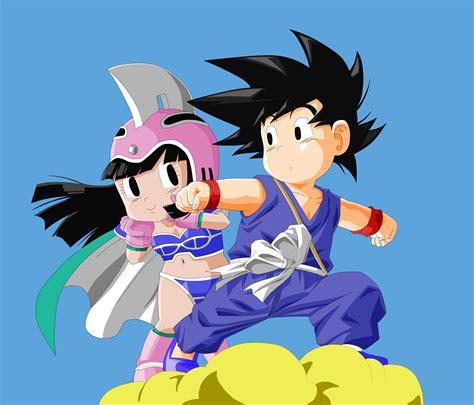 imagenes goku enamorado goku and chichi by nyrea on deviantart