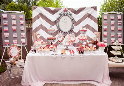 engagement party at home decorations saturday sunday shindig wedding wednesday chevron pink